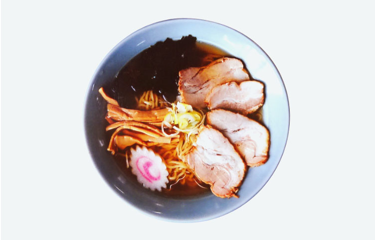 Chinese Noodles with Char-siu pork